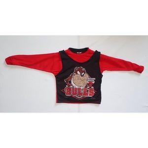 Vintage Chicago Bulls Tasmanian Devil Sweatshirt